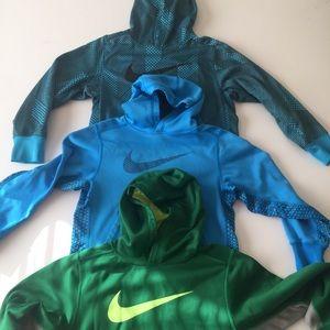 Boys Nike Hoodie Sweatshirt Lot Of 3 size small